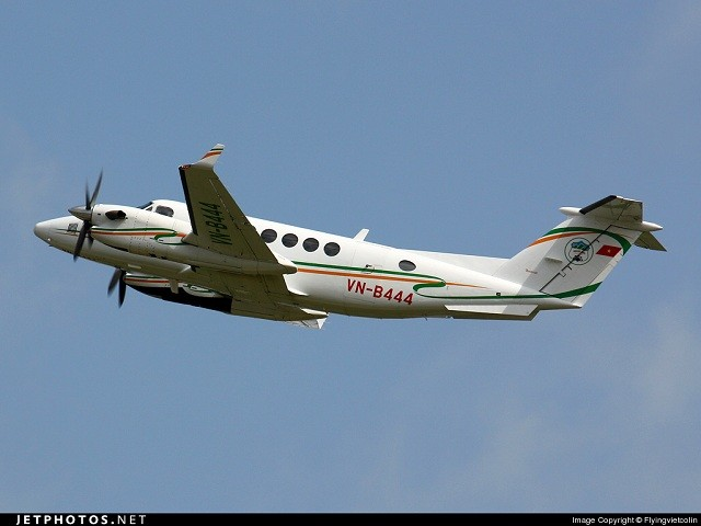 king air 350 vn b444