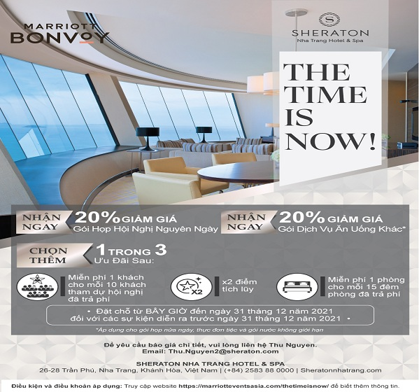 the time is now promotion flyer thu nguyen 1
